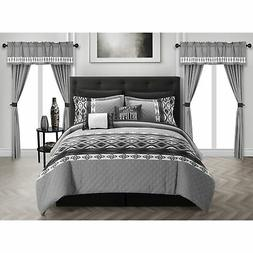 Chic Home Sevrin 20 Piece Comforter Set Color Block