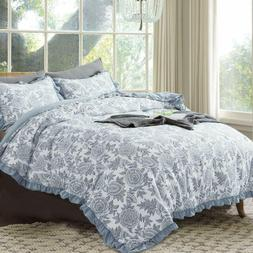 Soft Lightweight Printed Pattern Comforter Bedspread Coverle