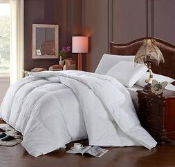 Royal Hotel Solid Best Down Comforter Baffle Box 300 TC Four