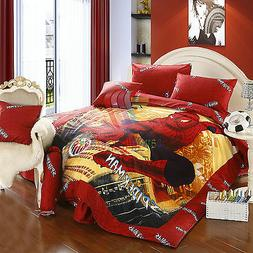Marvel Spider-Man 8pcs Comforter Set in a Bag Twin Full Quee