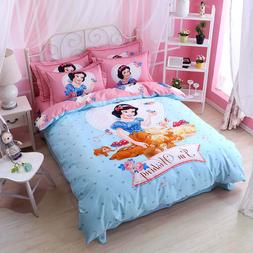 sweet Snow White Princess Disney Comforter Bedding Set Twin