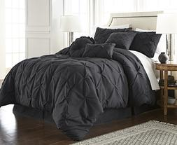 Chezmoi Collection Sydney 7-piece Pintuck Bedding Comforter