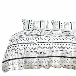 Wake In Cloud - Aztec Comforter Set, 100% Cotton Fabric with