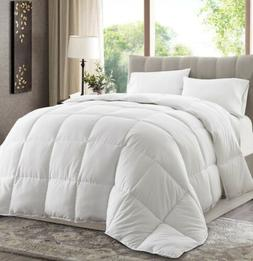White Down Alternative Comforter Duvet Insert w/Corner Tabs
