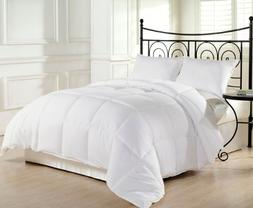White Extra Filled Down Alternative Comforter Duvet Insert w