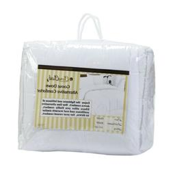 WHITE GOOSE DOWN ALTERNATIVE COMFORTER  KING SIZE QUEEN SIZE