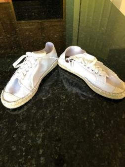 Urban Outfitters White Sneakers, Size 8, NWOB