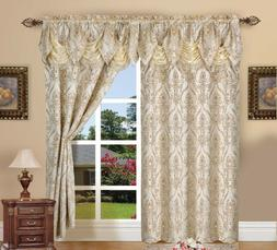 Window Curtains 84 Inch Long Curtain Panels Set Of 2 Drapes