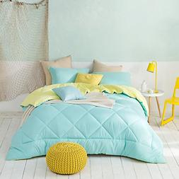 Byourbed Yucca/Limelight Yellow Queen Comforter - Oversized
